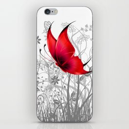 Fantasy Butterfly #10 iPhone Skin