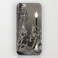 chandelier iPhone & iPod Skins featuring Chandelier  by Nicole Webb