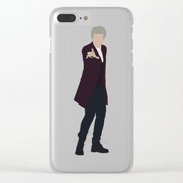 Twelfth Doctor: Peter Capaldi Clear iPhone Case
