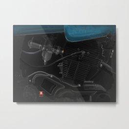 Vintage Laverda Motor Metal Print
