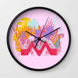 Jungle Fever M Wall Clock