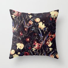 Night Forest VI Throw Pillow