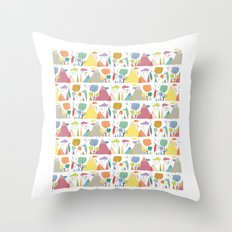 Spring pattern 3 Throw Pillow