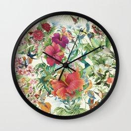 Party Birds Wall Clock