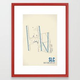 SLC Framed Art Print