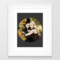 swan queen Framed Art Prints featuring Swan Queen II by Geek World