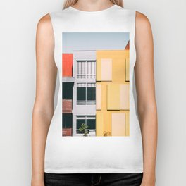 Los Angeles Architecture Biker Tank