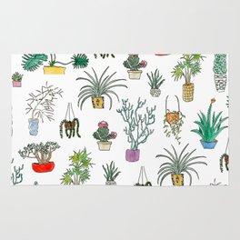 Houseplants Rug