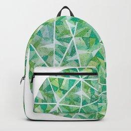 Green Cushion Gem Backpack