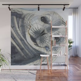 Inquisitive Seal Wall Mural