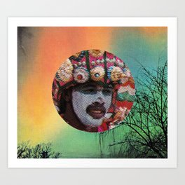 Welcome To The New World V Art Print