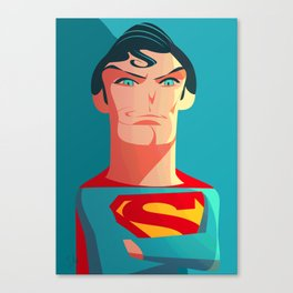 The real Superman Canvas Print