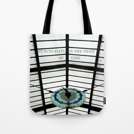 Oscar Wilde #4 Thief of Time Tote Bag