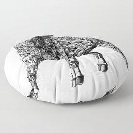 Raging Bull Floor Pillow
