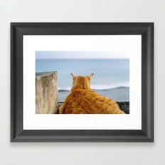 A Good Life Framed Art Print