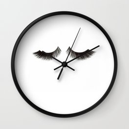 Makeup Print Printable Art Makeup Quotes Makeup Poster Eyelashes Print Fashion Wall Art Fashion Wall Clock