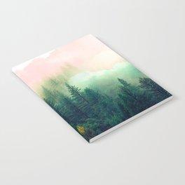 Watercolor mountain landscape Notebook