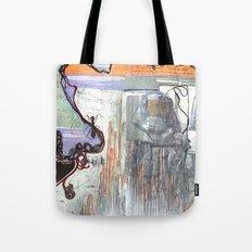 Space Voyage Tote Bag
