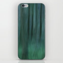 Painted Trees 2 Aqua iPhone Skin