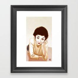 Tautou Framed Art Print