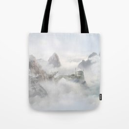 Palace of the Sky Dragons Tote Bag