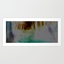 color wood Art Print
