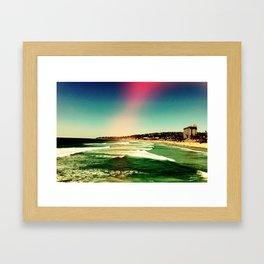 Rose colored lenses Framed Art Print