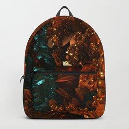 Darkstar Orange Black Backpack