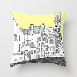 Bruges Throw Pillow