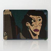 noir iPad Cases featuring Noir by Matt Jeffs