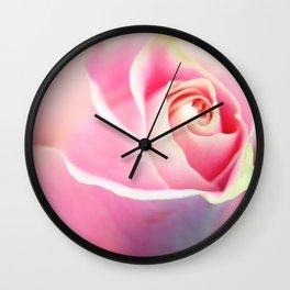 Soft Rose Wall Clock