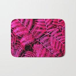 Pink Bracken Bath Mat