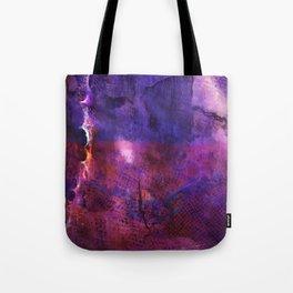 purple neon Tote Bag
