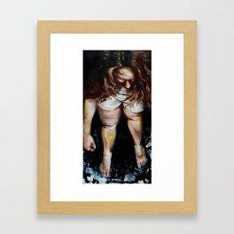 Lauren Nemchik - Bruised Betty  Framed Art Print