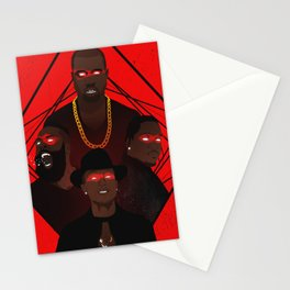 AdidasBoys - Ye, Pharrell, Harden, King Push Stationery Cards