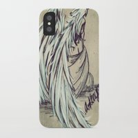 angel wings iPhone & iPod Cases featuring Angel Wings by Buttercream Art