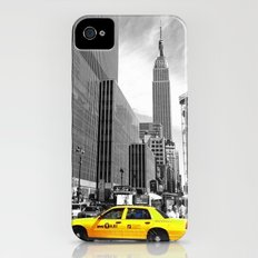 The yellow cab iPhone (4, 4s) Slim Case