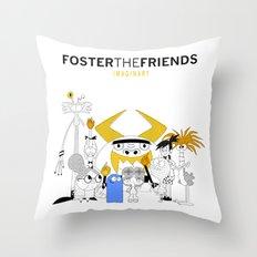 Foster the Friends Throw Pillow