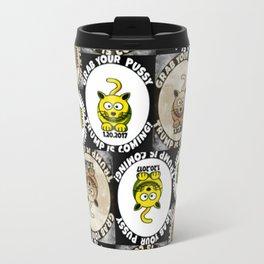 Happy Cat Trump Inauguration Travel Mug