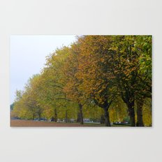 Autumn in Hyde Park Canvas Print