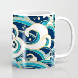 Rubino Sailing Water Great Wave Coffee Mug