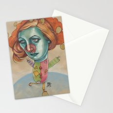 JUGGLING CLOWN Stationery Cards