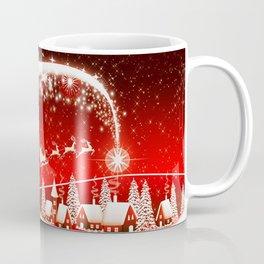 Santa Beautiful Christmas Coffee Mug