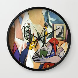 Mixed Picasso · 3 Wall Clock