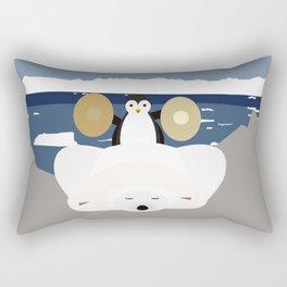 Time to get up Rectangular Pillow