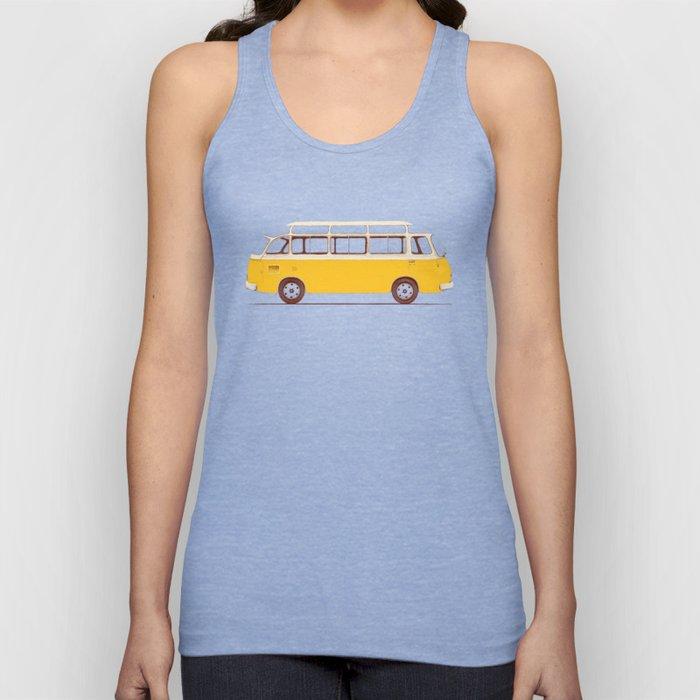 Yellow Van II Unisex Tank Top