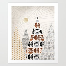 All The Magical Mountains Art Print