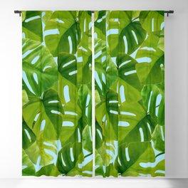 Modern Leaves Blackout Curtain
