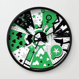 feminist deity Wall Clock