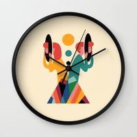 lost Wall Clocks featuring Lost by Andy Westface